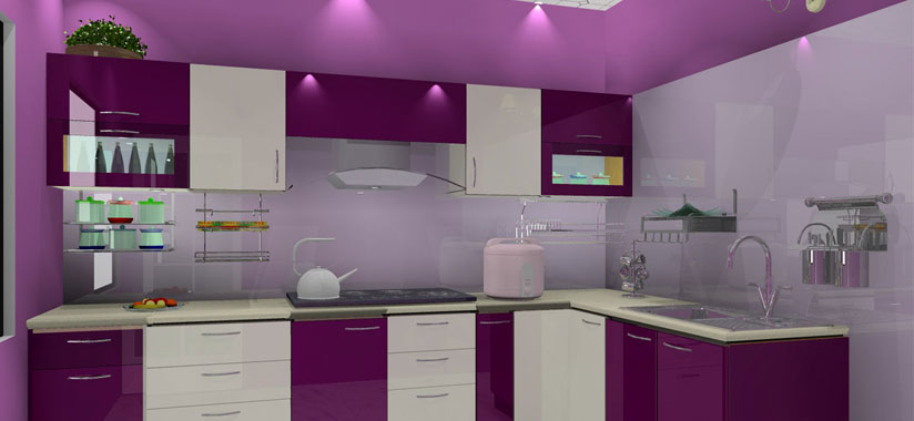 Kitchen redesign in Kerala