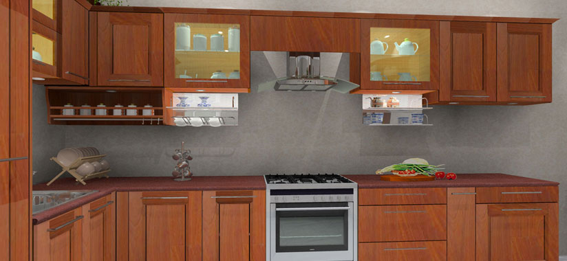 Home kitchen interior designers in trivandrum thiruvananthapuram kerala review home decor for Kerala kitchen design pictures