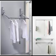 Wardrobe Lift Wall Mount - 10