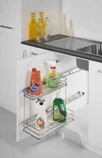 PULL-OUT DETERGENT RACK. (Under Sink)